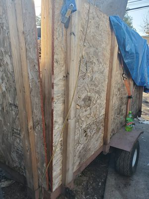 4ft by 8ft tilt bed trailer 1500 lbs axle for Sale in Arvada, CO