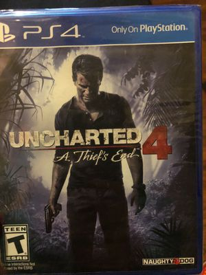 New Uncharted 4 A Thief's End PS4 for Sale in Lodi, CA
