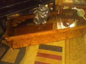 Glass top coffee table for Sale in Williamsport, PA