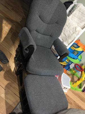 Dutailier recliner and ottoman for Sale in Carmichael, CA