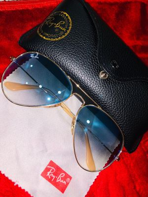 Rayban Aviator Blue and Gold Gradient Sunglasses for Sale in Tampa, FL