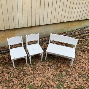 Kids Chairs And Bench for Sale in Greenville, SC