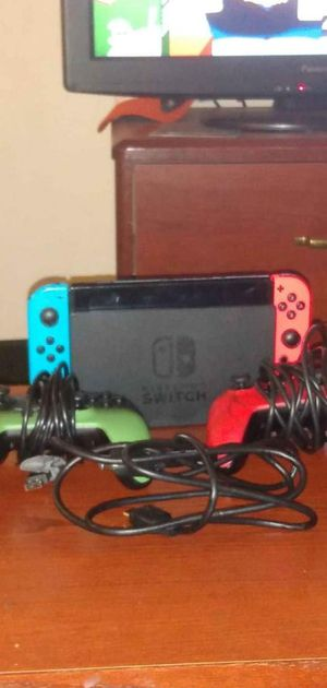 Nintendo switch with two remotes for Sale in Oklahoma City, OK