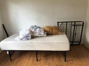Small Soft bed frame and mattress brand New for Sale in New Port Richey, FL