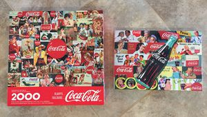 COCA COLA VINTAGE PUZZLES IN EXCELLENT CONDITION. for Sale in Orlando, FL