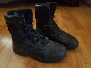 Sz 7.5 Work Utility Boots Carpenter Hightop Leather for Sale in LAKE MATHEWS, CA