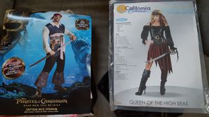 Pirate Halloween costumes (new) for Sale in Lakewood, OH
