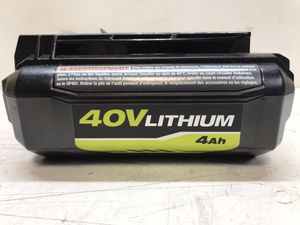 40-Volt Lithium-Ion 4 Ah High Capacity Battery for Sale in Bakersfield, CA