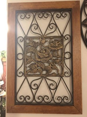 Heavy Metal Iron Wall Decor for Sale in Fremont, CA