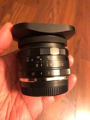 Meke 35 f/1.7 camera lens for Sale in East Liberty, PA