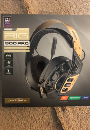Rig 500 PRO Gold Dolby Special Edition for Sale in Pinole, CA