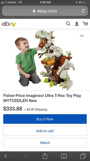 Used, Imaginext ultra T-Rex toy for Sale for sale  Bensalem, PA