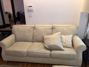 Rowe sleeper sofa, arm chair, and ottoman set for Sale in Boston, MA