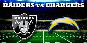 Raider vs Chargers - 4 Tix, 50-Yard Line! for Sale in Lathrop, CA