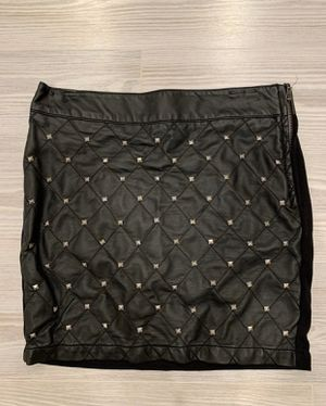 Studded faux leather mini two sided skirt for Sale in Silver Spring, MD