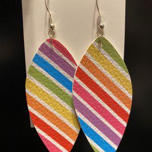 Rainbow Leaf Earrings for Sale in Portland, OR