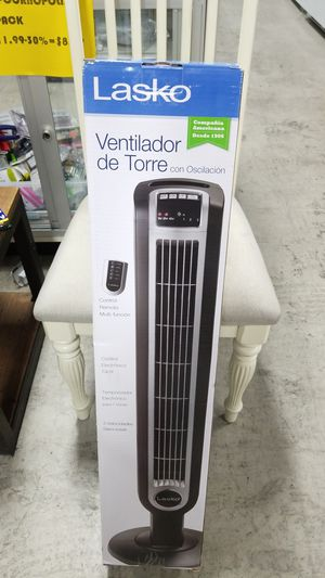 Lasko Tower Fan with remote new in Box for Sale in Aventura, FL