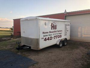 Used enclosed cargo trailer for Sale in Alexandria, LA