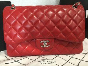 Chanel Lambskin Classic Flap Bag Purse Handbag for Sale in San Jose, CA