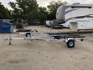 Continental Aluminum Double Jet Ski Trailer-$1595 for Sale in St. Petersburg, FL
