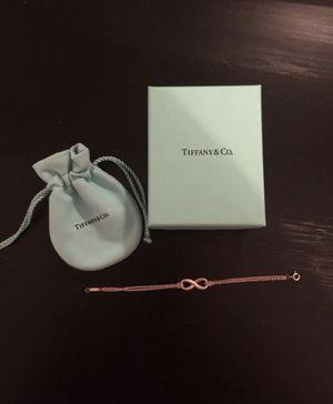 Tiffany's infinity bracelet for Sale in Arlington, VA
