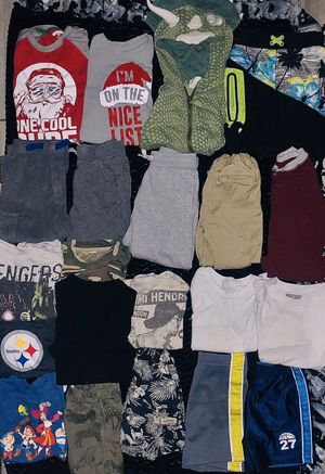 Boys size 3 and 4 clothes (and a few pairs of shoes) for Sale in Las Vegas, NV