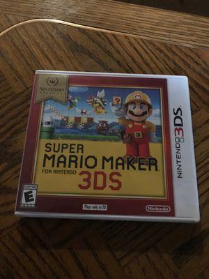 Super Mario maker 3ds for Sale in Vancouver, WA