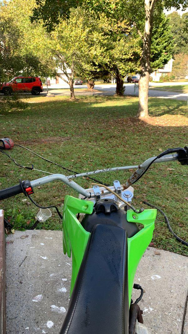 125cc coolster dirt bike