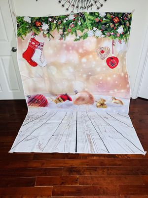 Christmas 5x7ft photography backdrop for Sale in Takoma Park, MD