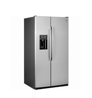 Refrigerator - Fridge - Refrigerador - GE - 25.3 cu. ft. Side by Side - Stainless Steel - ENERGY STAR - GSE25GSHSS - New for Sale in Miami, FL