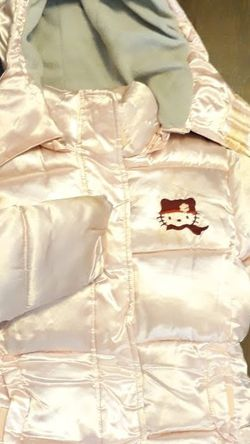 Hello Kitty Snow Jacket Size 5/6 for Sale in Los Angeles,  CA