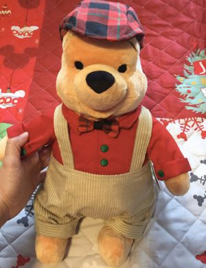 Disney Christmas Winnie the Pooh plush for Sale in West Covina, CA