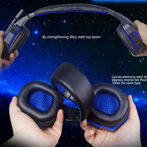KOTION EACH Gaming Headphones Headset Deep Bass Stereo wired gamer Earphone Microphone with backlit for PS4 phone PC Laptop for Sale in Bethesda, MD