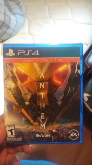 Anthem ps4 for Sale in Mesquite, TX