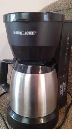 Black and Decker small thermal coffee pot for Sale in Fairview,  OR
