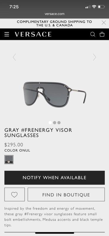 7a6b142559246 Versace men glasses for Sale in Covington