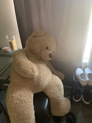 Life size teddy bear for Sale in San Bernardino, CA