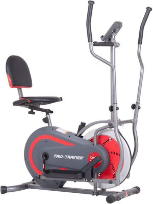 Body Power 3-in-1 Exercise Machine, Trio Trainer, Elliptical and Upright/Recumbent Bike for Sale in Beaumont, CA