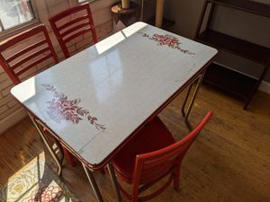 Small table and chairs, for porch or kitchen for Sale in Norfolk, VA