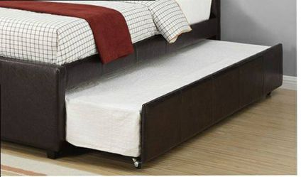CLOSEOUTS LIQUIDATION SALE BRAND NEW TWIN SIZE BED FRAME AVAILABLE IN FULL ADD MATTRESS ALL NEW FURNITURE PDX9215T for Sale in Ontario,  CA