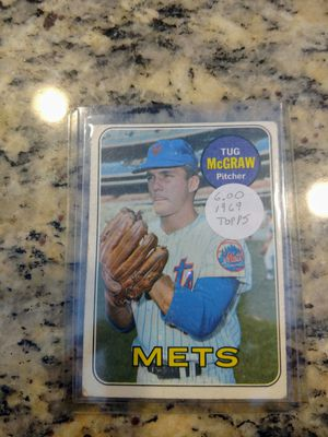 1969 Topps Tug McGraw Baseball Card for Sale in Land O' Lakes, FL