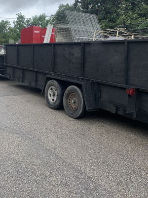 24ft trailer , (bill of sale ) for Sale in Houston, TX