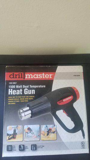 $10 LIKE NEW drill master heat gun for Sale in Bossier City, LA