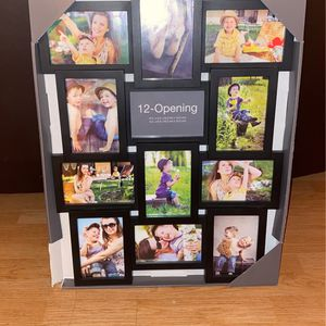 12 opening picture frame for Sale in Tracy, CA