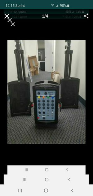 Fender pro 150 PA system for Sale in New York, NY