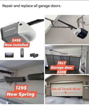 New garage door opener installed. for Sale in Arlington, TX