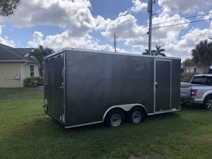 8.5x16 enclosed trailer for Sale in Port St. Lucie, FL