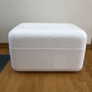 """Styrofoam container with lid - approx 26""""x 17"""" for Sale in Appleton, WI"""