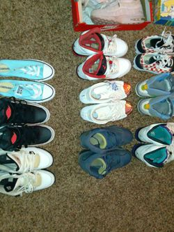 Jordan's, Adidas, Converse, Air Max, & Vans for Sale in Bloomington,  IL
