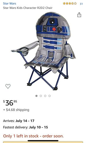 Brand New Star Wars Kids Folding Chairs for Sale in Carlsbad, CA